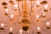 Chrystal chandelier close-up. — Stock Photo