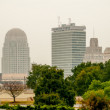 Winston salem skyline — Stock Photo