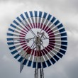 Old classic windmill vane — Stock Photo