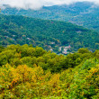 Mountain landscapes in virginia state around roanoke  — Stock Photo