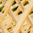 Stock Photo: Wood stud construction