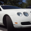White bentley — Stock Photo