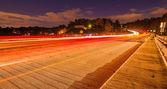 Evening commute traffic — Stock Photo