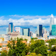 Skyline of a modern city - charlotte, north carolina, usa — Stockfoto