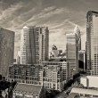 General view of Skyline of Uptown Charlotte — Stock Photo