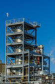 Industrial plant on a sunny day — Stock Photo