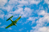 Action in the sky during an airshow — Stock fotografie
