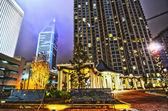 Charlotte city skyline — Stock Photo