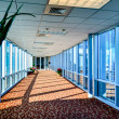Modern corporate architecture skywalk — Stock Photo #37880361