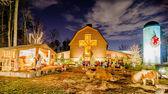 21st december 2013, charlotte, nc - christmas celebration at bil — Stock Photo