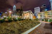27 décembre 2014, charlotte, nc, é.-u. - skyline charlotte près de r — Photo