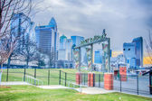 Bb&t ballpark charlotte nights baseball stadium — Stock Photo