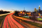 Early morning in charlotte nc — Stock Photo