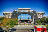 Charlotte, nc - October 10,2014 - panthers nfl stadium — Stock Photo