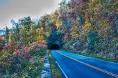 Scenics around blue ridge parkway north carolina — Foto Stock