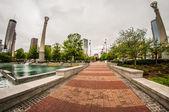 Downtown Atlanta, Georgia USA skyline — Stock Photo