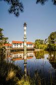 Lake mattamuskeet lighthouse north carolina — Stock Photo