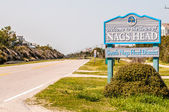 Town of nags head scenes on outer banks nc — Stock Photo
