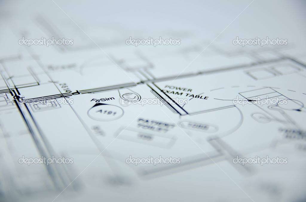 Architectural Drawing Background architectural drawing project design background — stock photo