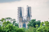 Cathedral under construction — Stockfoto