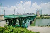 Knoxville, tennessee sayısı güneşli günü şehir merkezinde — Stok fotoğraf