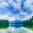 Lake santeetlah in great smoky mountains north carolina — Stock Photo #50208109