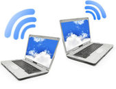 Wireless network — Stock Photo