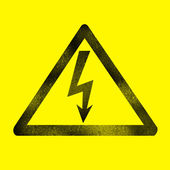 Electric sign — Stock Photo