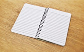 Notepad — Stock Photo