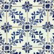 Stock Photo: Detail of some typical portuguese tiles