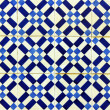 Detail of some typical portuguese tiles - 图库照片