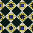 Detail of some typical portuguese tiles - Lizenzfreies Foto