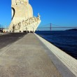 Monument to the Portuguese Sea Discoveries. Lisbon, Portugal — Stock Photo #13203918
