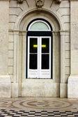 Detail okna v lisabonu, portugalsko — Stock fotografie