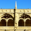 Detail of the cloister of the portuguese Hieronymites Monastery — Stock Photo #13579336