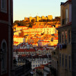 Stock Photo: Castle hill, Lisbon, Portugal