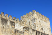Detail of the Saint George's Castle at Lisbon, Portugal — Stock Photo