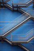 Iron Stairs Background — Stock Photo