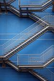 Iron Stairs Background — Stock Photo