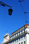 Detail of an old building at Lisbon, Portugal — Stock Photo
