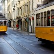 Famous Tram 28, Lisbon, Portugal — Stock Photo #13660317