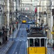 Famous Tram 28, Lisbon, Portugal — Stock Photo #13660684