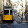 Famous Tram 28, Lisbon, Portugal — Stock Photo #13660750