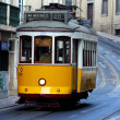 Famous Tram 28, Lisbon, Portugal — Stock Photo