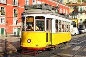 Famoso tranvía nº 28, lisboa, portugal — Foto de Stock