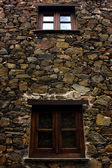 小典型山村的片岩 — 图库照片