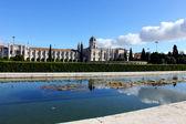 Jerónimos mosteiro, lisboa, portugal — Foto Stock