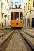 Elevador da Bica, Lisbon, Portugal — Stock Photo