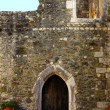 Stock Photo: Detail of portuguese medieval castle
