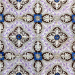 Detail of some typical portuguese tiles at Lisbon - Stockfoto